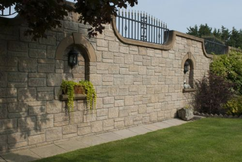 Abbey Stone Walling - Mellow York